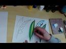 Рисуем ландыши. Уроки Зинаиды Голубевой.