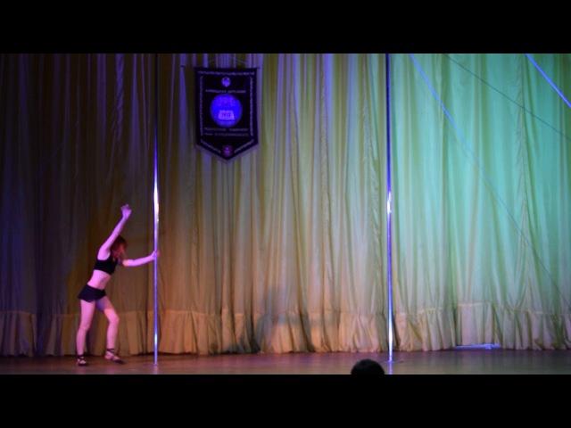 Нагорна Марія Миколаївна Vinyl Pole Dance Studio POLE DANCE Дорослі жіноча категорія аматори з...