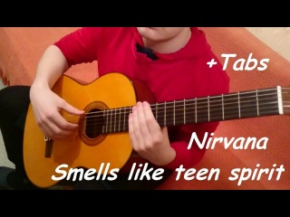 Smells like teen spirit - Nirvana - Fingerstyle guitar (With Tabs)