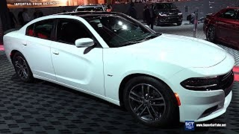 2018 Dodge Charger GT Plus AWD - Exterior and Interior Walkaround - 2018 Detroit Auto Show