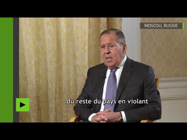Lavrov : «Les forces spéciales américaines sont «au sol» en Syrie illégalement»