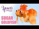 Easy SUGAR GOLDFISH Tutorial Yeners Cake Tips with Serdar Yener from Yeners Way