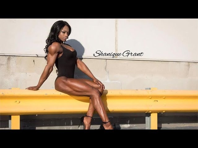 SHANIQUE GRANT 3x IFBB Champ