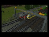 Trainz Simulator 12 Катаемся по сети на