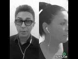 Необычный дуэт. Ирина Кокурина и Валерий Сюткин.