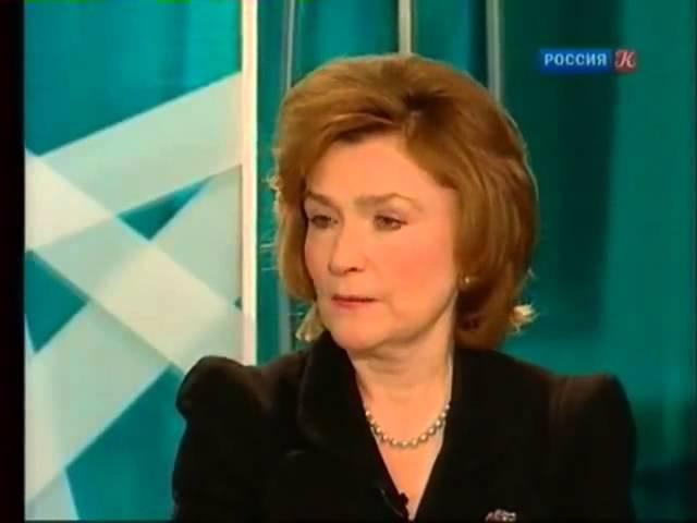 Наталия Нарочницкая в программе Главная роль