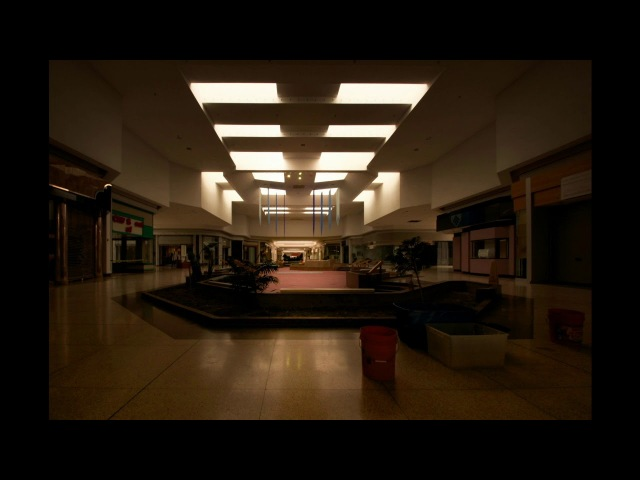 Wish you were here by Pink Floyd playing in an empty mall