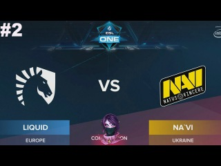 NaVi vs Liquid RU #2 (bo3) ESL One Genting 2018 Minor 24.01.2018