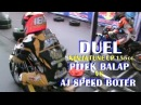 DUEL PANAS ! NINJA Team PITEK BALAP VS NINJA Team AJ SPEED BOTER DRAG BIKE TU 155cc