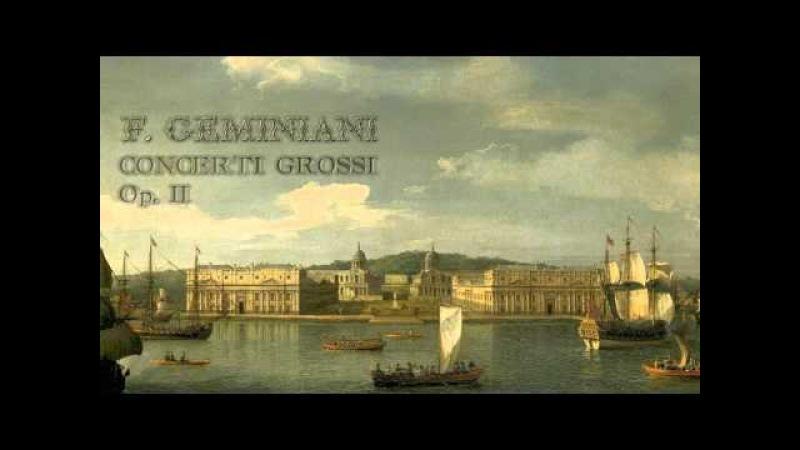 F Geminiani Concerti Grossi Op II