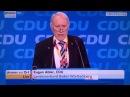 Vernichtende Rede gegen Merkel auf CDU Parteitag Eugen Abler