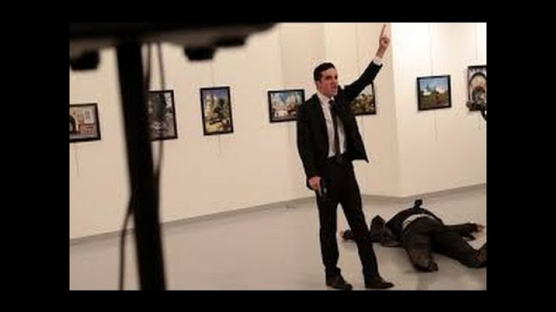 DEAD! ACTUAL VIDEO Of MOMENT RUSSIAN AMBASSADOR to TURKEY SHOT DEAD 18 VIEWING WARNING ||