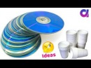 Best use of waste disposal tea Glass CD | DIY Home Decor | Artkala 398.