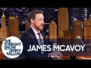 James McAvoy in Jimmy Fallon's The Tonight Show