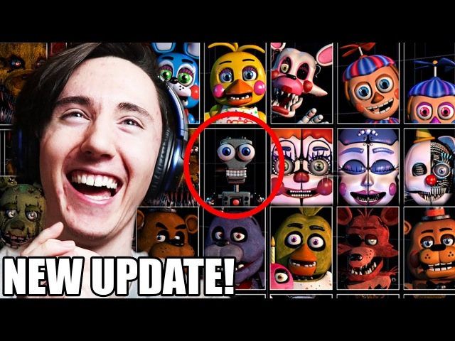 20 ANIMATRONICS REVEALED!    ULTIMATE CUSTOM NIGHT FOR FNAF 6 IS COMING
