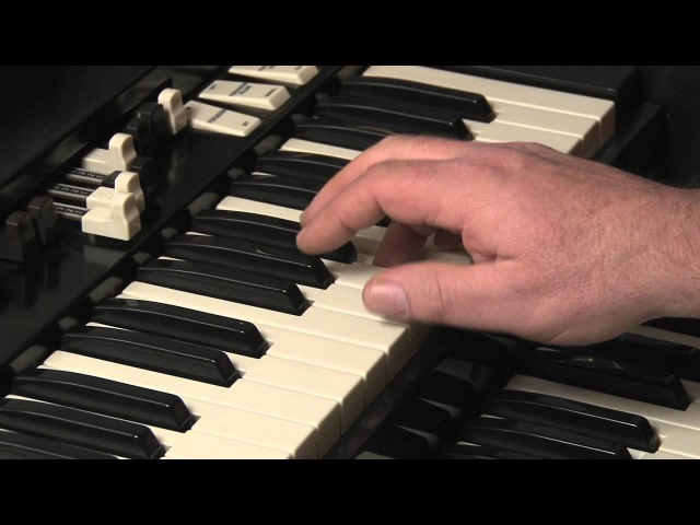 LESSON 9 - HOW TO PLAY JAZZ ROCK LICKS ON A HAMMOND B3 or C3 ORGAN