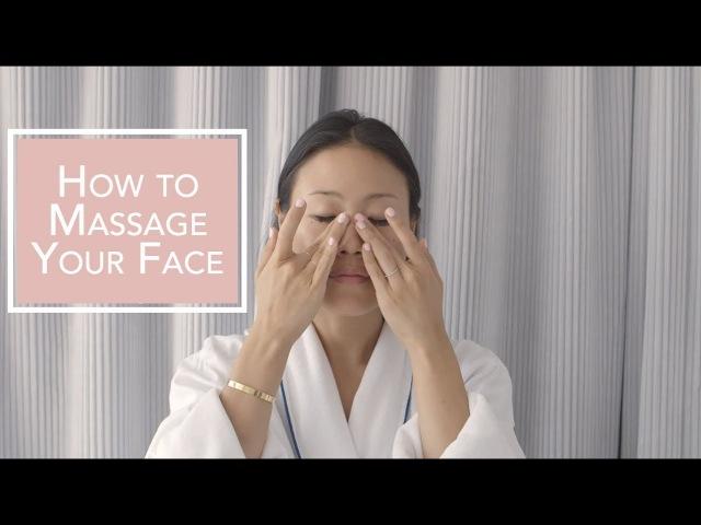 How To Do A Facial Massage | Peach Lily