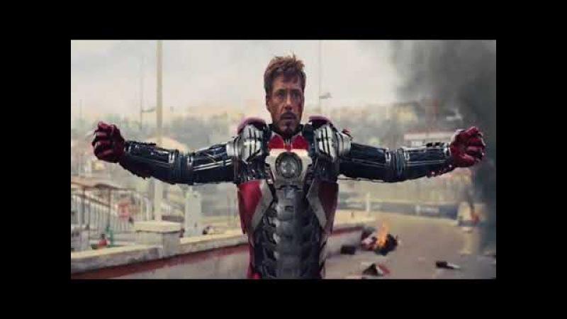Homem de ferro vs Chicote negro (primeira luta)dublado HD|Homem de ferro 2 (2010)