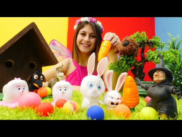 Peri Ayşe tavşanı sihirli havuç ile iyileştirdi!