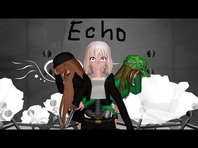 MMD (Minecraft) Echo (Ender, Creeper, Skeleton)
