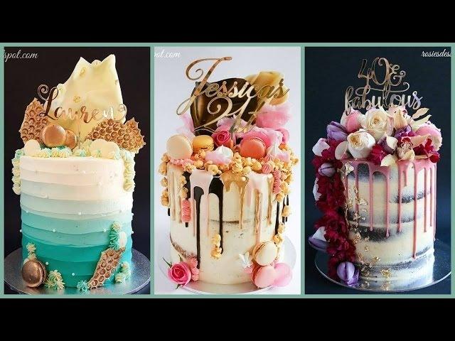 Amazing Cake Decorating Videos ♥ 2017 ♥