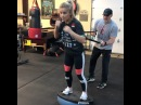 Paige VanZant on Instagram @coach dave wl making sure I keep that punching power without irritating my forearm UFC I'm coming back ""