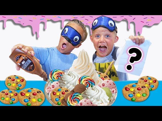 THE WORLD'S LARGEST SURPRISE ICE CREAM SUNDAE Bad Candy Fun Game for Kids