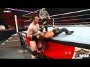 WWE Raw 10/01/2011 - John Morrison vs King Sheamus