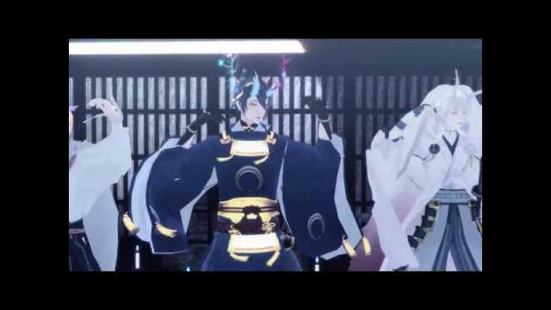 【MMD刀剣乱舞】山姥切国広くんと仲間たちでHappy Halloween【微PV+寸劇】