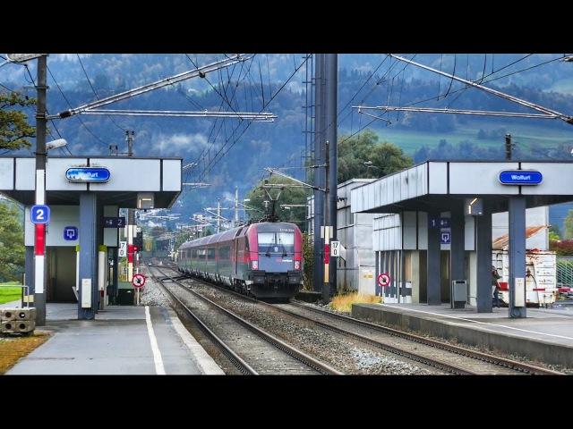 Container Terminal und Bahnhof Wolfurt in Vorarlberg