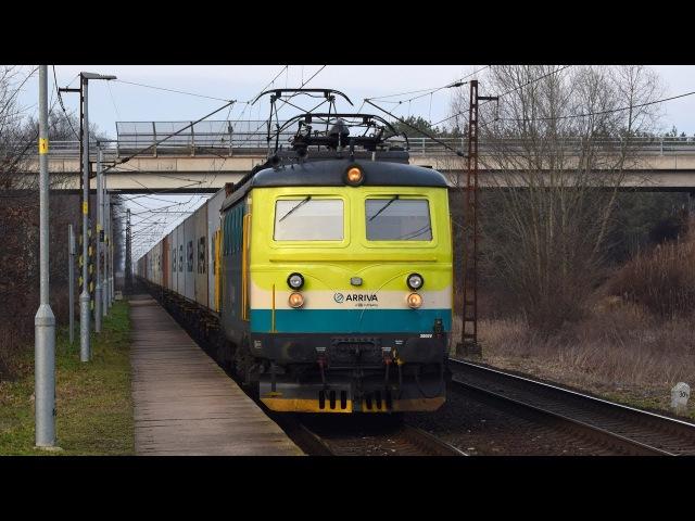 Vlaky na trati 231 (Kolín - Velký Osek) - 25.1.2018