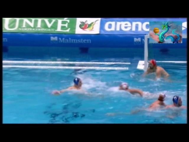 Water polo Удар по воротам 95