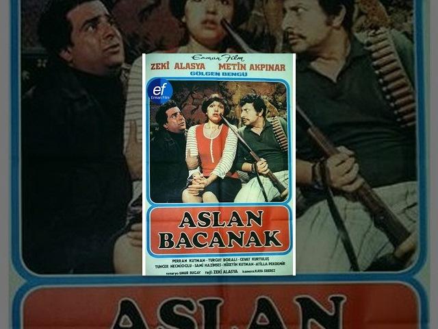 Aslan Bacanak (1977) - Zeki Alasya Metin Akpınar