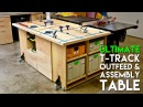 ULTIMATE T-Track Assembly Outfeed Table / Workbench with Systainer Storage | How To Build