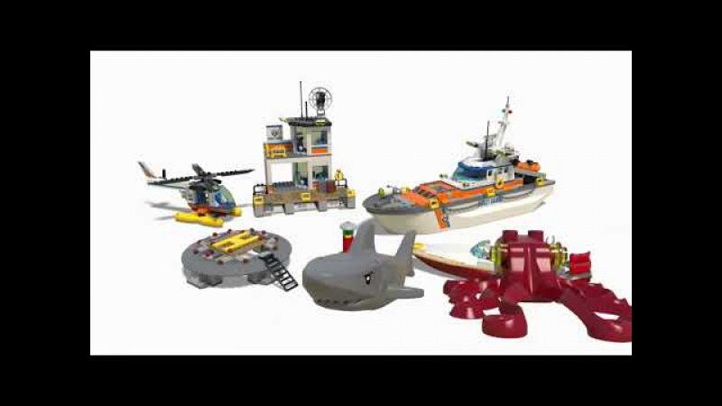 LEGO® City - Штаб береговой охраны