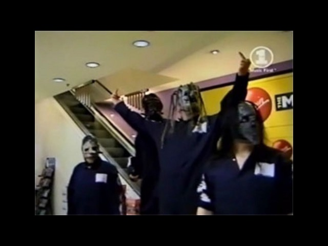 Slipknot Instore Signing Virgin Megastore - London, UK (Feb. 29, 2000)