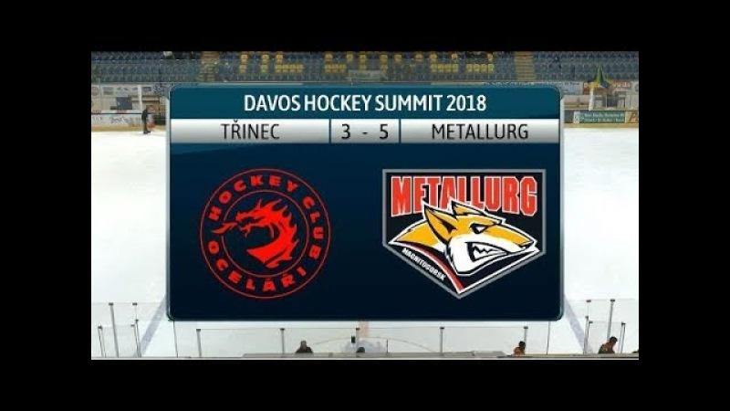 Davos Hockey Summit Ocelari Trinec - Metallurg Magnitogorsk