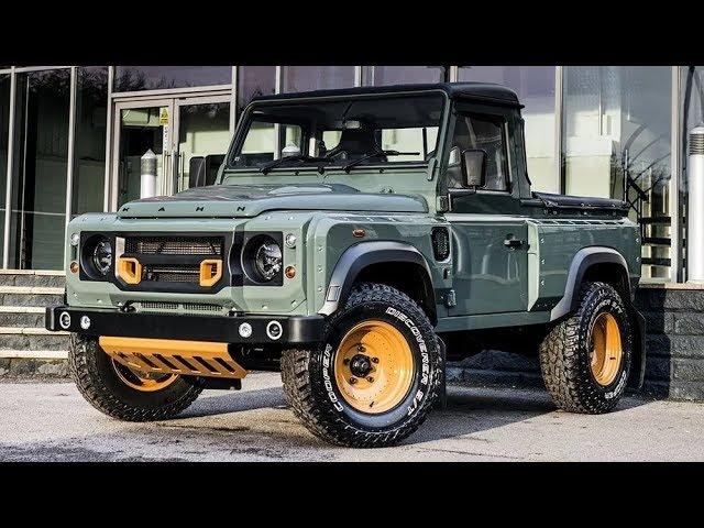 По пустыне на Land Rover Defender