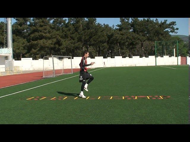 Football coaching video - soccer drill - ladder coordination (Brazil) 6