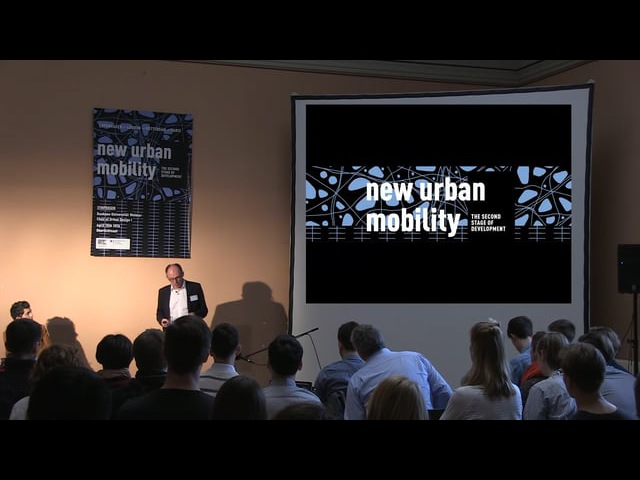 Steffen de Rudder Introduction to New Urban Mobility
