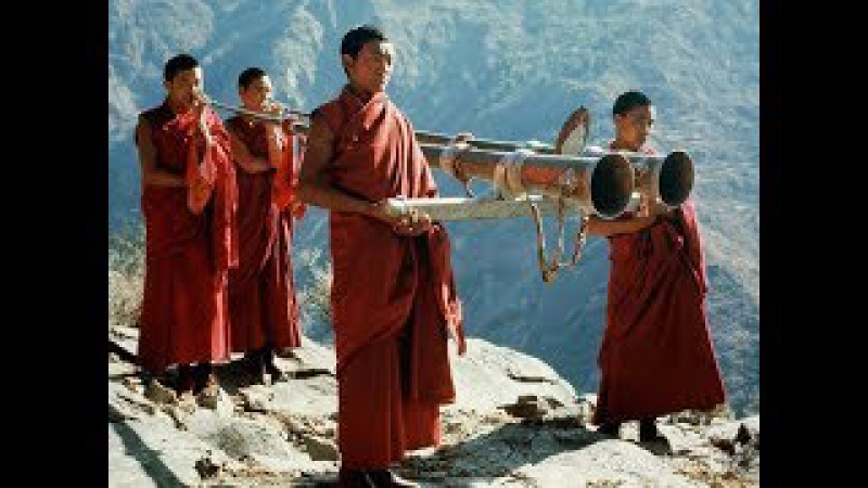 МАНТРЫ Пение тибетских монахов ОЧИСТКА БИОПОЛЯ И ПРОСТРАНСТВА