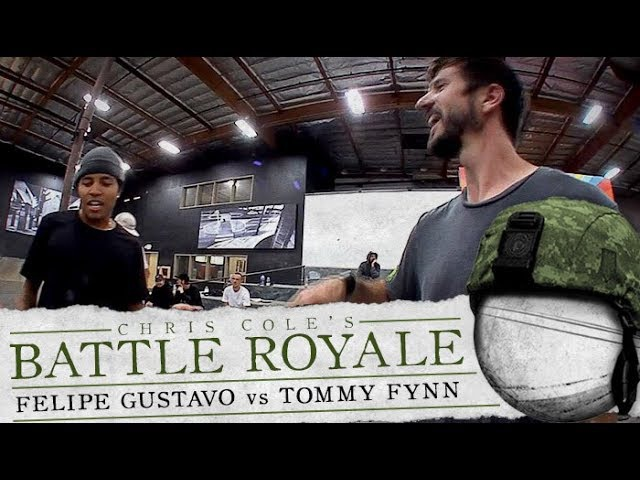 Felipe Gustavo Tommy Fynn Battle Royale