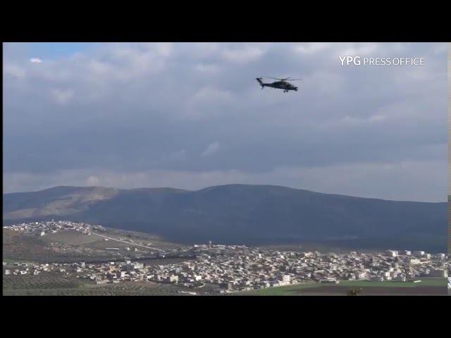 27 01 18 YPG вновь выложили съёмки с данной возвышенности не на самой высоте 740 через несколько часов после публикаций Ахрар аш Шаркия Возможно YPG опять отбили гору через часы после захвата ССА