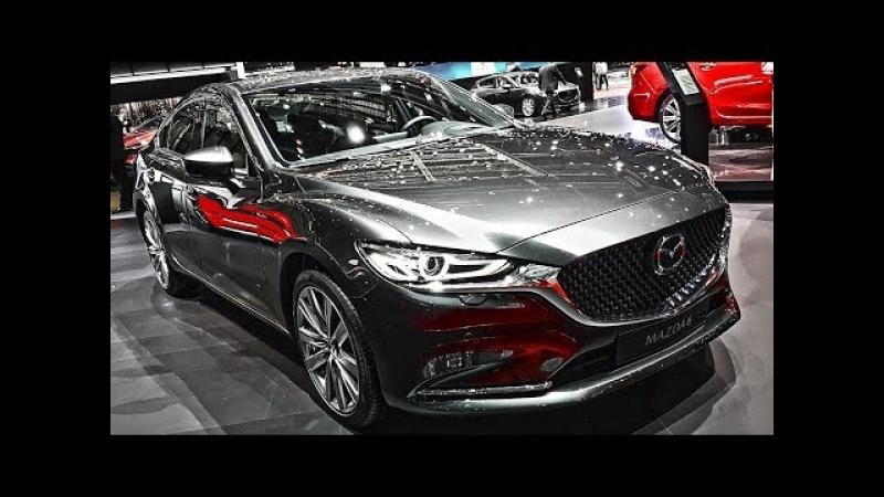 От Камри ТАКОГО не дождёшься Новая Мазда 6 2018 и Mazda 3 будущего