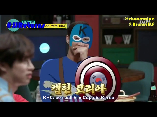 ENGSUB 171013 tvN Life Bar EP40 cut Captain Korea Choi Siwon