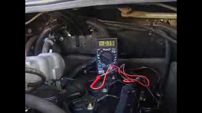 Проверка датчика кислорода ДК1 (он же лямбда-зонд) на ЗМЗ 409 Евро-3