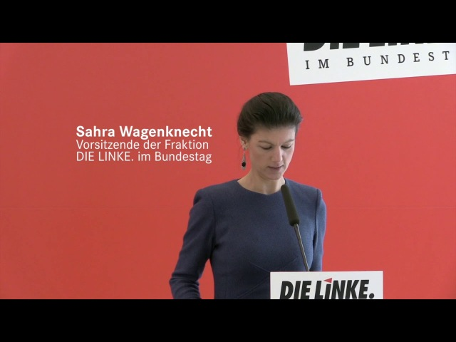 Sahra Wagenknecht, DIE LINKE: Merkels neue Chaos-Truppe liefert blamables Bild ab