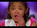 Little Girl SHOCKED Starts to CRY after She Gets... | America's Got Talent