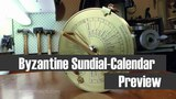 The Byzantine Sundial Calendar - The 2nd Patron Series Project - (AKA The London Sundial Calendar)