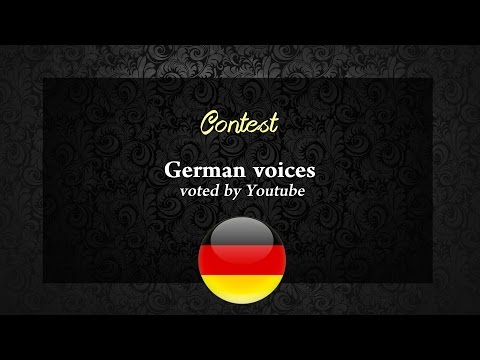 Who is your favourite German Non/Disney Princess voice ? Result !